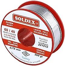 Soldex - Soldex 600752 0.75mm 200gr Sn:60 Pb:40 Lehim Teli