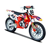 Bburago-KTM 450 SX-F Factory Edition (2018) Escala 1:18 (18-51081)