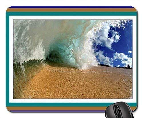 Tidal Wave 4 Mouse Pad, Mousepad (Oceans Mouse Pad)