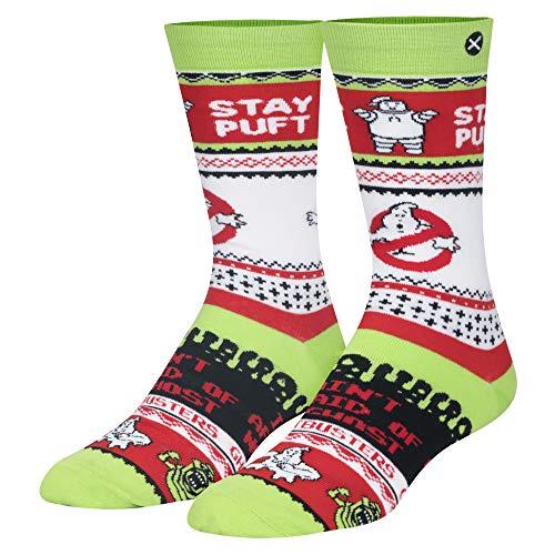 Ghostbusters Ugly Christmas Socks Gift for Men, Women