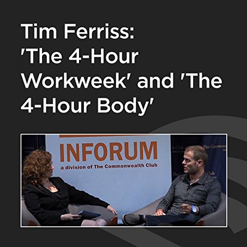Tim Ferriss: 'The 4-Hour Workweek' and 'The 4-Hour Body' cover art