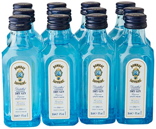 Bombay SAPPHIRE London Dry Gin (12 x 0.05 l)