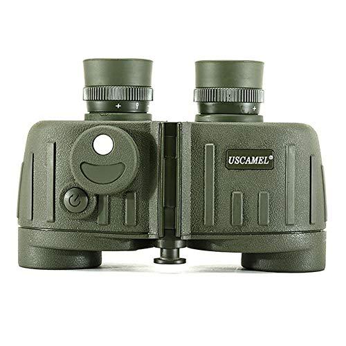 WYYHAA 7X30 Prismáticos para Adultos, Compacto Prismáticos con Baja Luz De Visión Nocturna Grande del Ocular De Alta Potencia Impermeable Binocular Easy Focus De Caza Al Aire Libre Observación