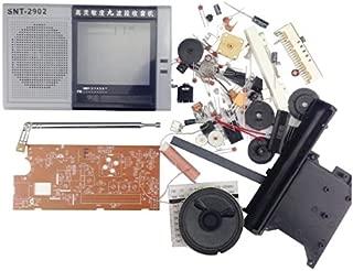 Prament DIY の EDT-2902 マルチバンドラジオキット FM MW の SW1-7 振幅変調9バンドラジオトレーニングキット -
