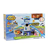 Wings-EU710830-World Control Tower(Large) inclu. Jett & Donnie Superwings Super Wings-Grand Playset-World Airport, YW710830, Multi Collour