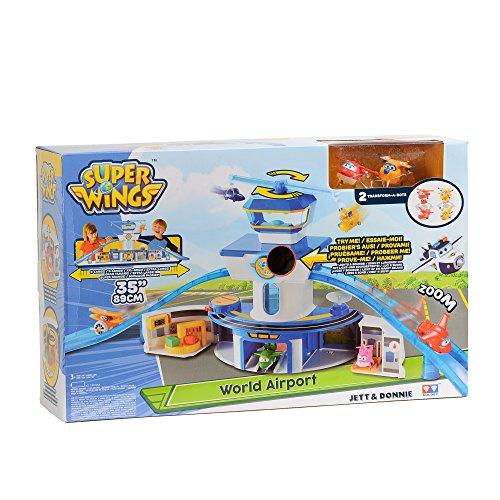 Auldeytoys YW710830 - World Airport Playset Control Towerlarge, Spielzeugfigur, mehrfarbig