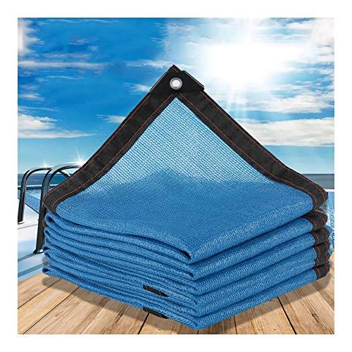 AGLZWY Vela de Sombra con Ojales Solar Sombra Paño 85% Resistente a Los Rayos UV Respirable para Al Aire Libre Avicultura Protección Solar del Coche Pérgola La Piscina o Piscina