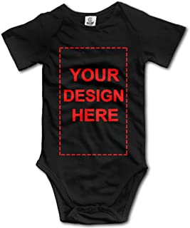 Custom Cute Infant Bodysuit Romper Jumpsuit Clothes Newborn Baby Onesies for Boys and Girls