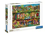 Clementoni- The Garden Shelf Puzzle Adulto, Multicolor (32567)