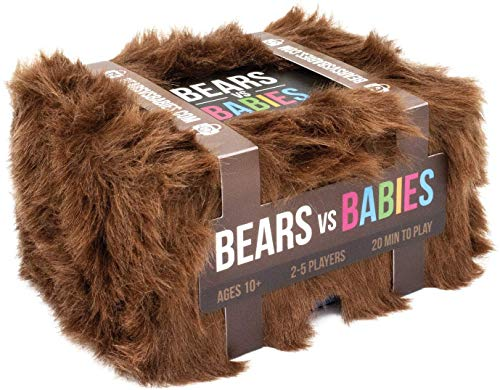 Bears vs Babies Juego: A Card Game from The Creators of Exploding Kittens En Inglés