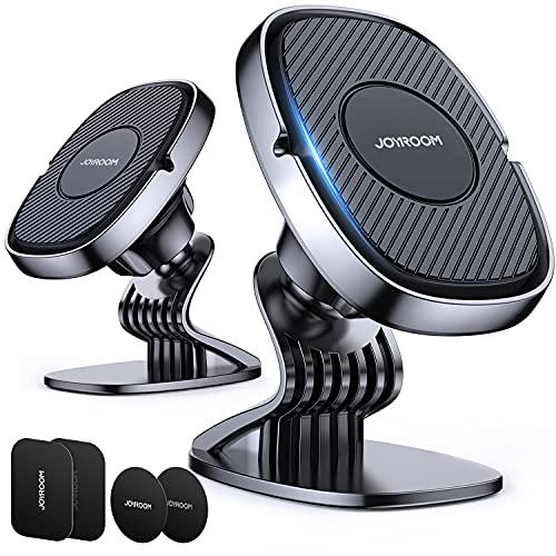 Kirakudo Pro All-Around - Soporte magnético universal para coche, manos libres [2 unidades)