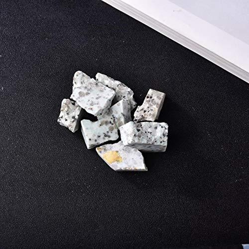 FISH4 Cuarzo Mineral de Mineral de Cristal Rosa Natural para la decoración del hogar, pecera, joyería de Piedra, reparación mágica, espécimen curativo, Adorno de Gemas-Zebrstone, 4 Piezas