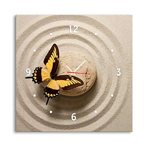 QiXian Moderna Sala de Estar Decoración de Comedor Pintura Muda Reloj Lienzo...