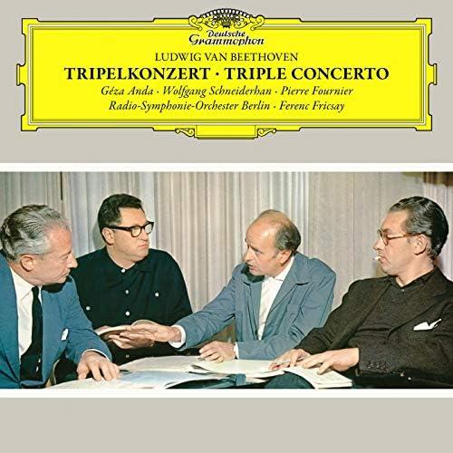 Géza Anda, Wolfgang Schneiderhan, Pierre Fournier, Radio-Symphonie-Orchester Berlin & Ferenc Fricsay