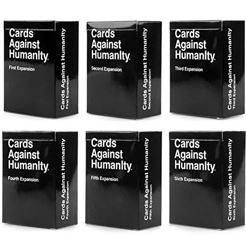 Cards Against Нumanity Cards Game Original Expansion Packs Bundle 1-6