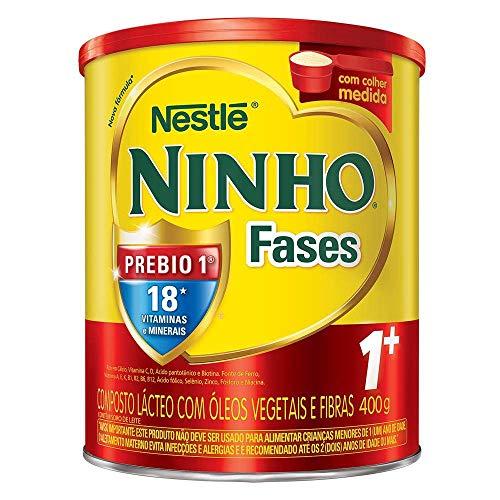 Composto Lácteo, Ninho, Fases 1+, 400g
