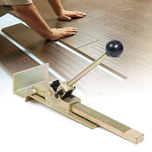 Flooring Jack for Installing Straightening Laminate Hardwood Wood Tile Floor