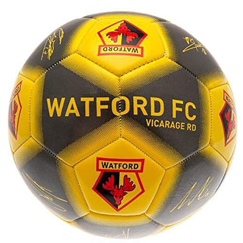 Official Licensed Watford F.C - Size 5 Football (SIGNATURE)