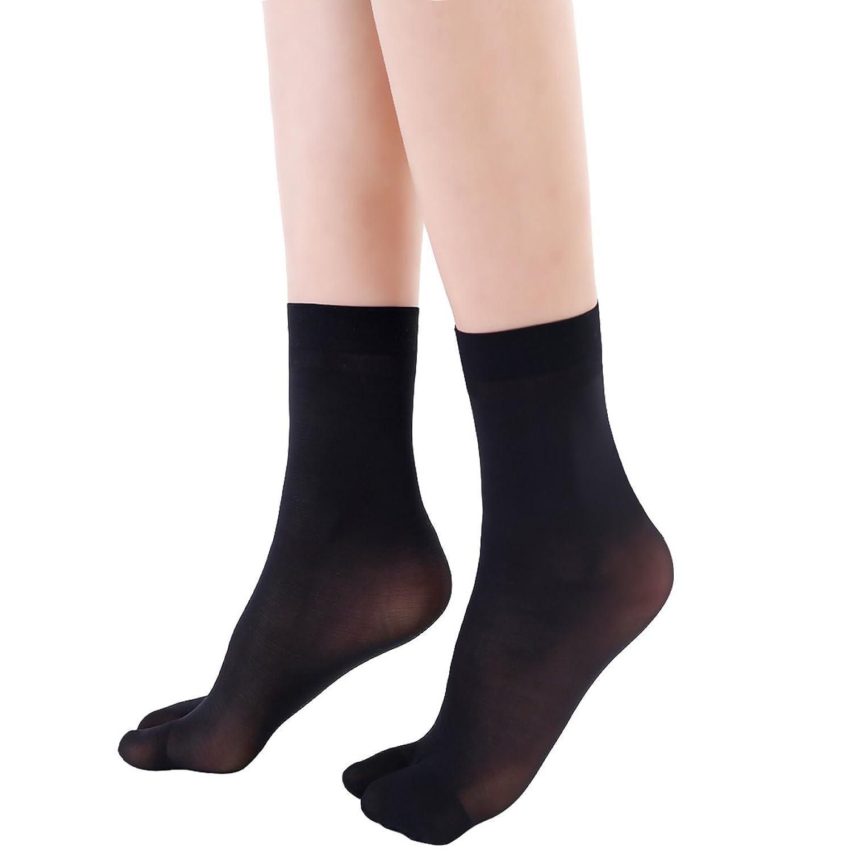 10足組 2本指 ソックス 薄い2フィンガーソックス下駄 草履 靴下 分指 ショートソックス 男女兼用 足袋 通気 汗を良く吸い 冷房対策