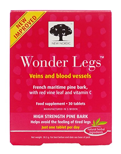 New Nordic Wonder Legs 30 Tablets (Case of 6)
