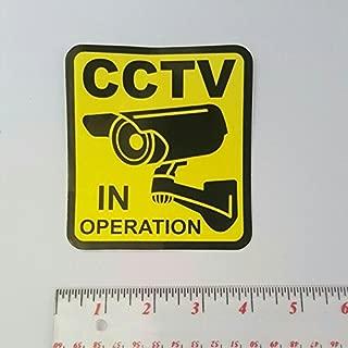 Best cctv in operation sticker Reviews