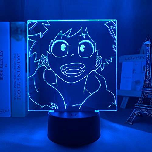 Luz de noche 3D para niños, interruptor táctil, mando a distancia, 16 colores, cambio de carga USB, regalos para niños, regalo perfecto fiesta de cumpleaños para bebés, adolescentes y amigos