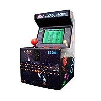 Miniatur-Arcade-Spiel Mit 240 8-Bit-Videospielen 2.5 TFT-Bildschirm 3 x AA-Batterien erforderlich (nicht im Lieferumfang enthalten)
