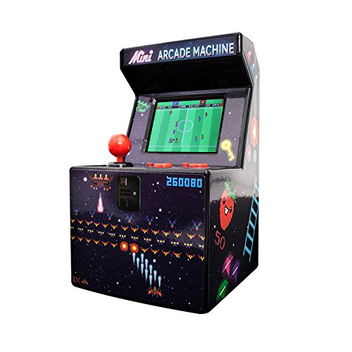 Thumbs Up! Mini Console Portatile - Mini Arcade Machine 240in1- 8Bit, contiene 240 giochi