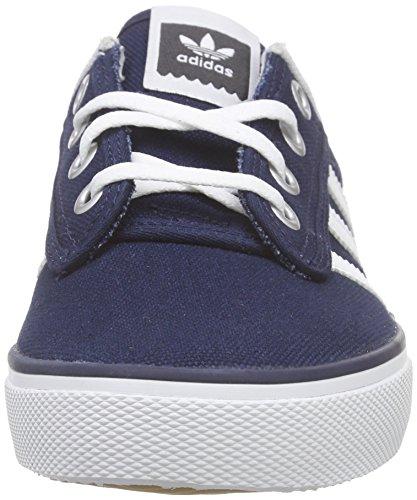 adidas Kiel - Zapatillas para hombre, color azul marino / blanco, talla 35, Azul (Maruni / Ftwbla / Carbon), 39 1/3 EU