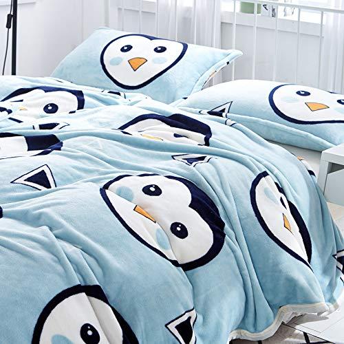 Liumenglin Haustierdecke Hundedecke Nest Pad Katze Decke Klimaanlage Decke Kinderdecke Hundedecke Hundedecke Katze 200cm x 150cm Blau D
