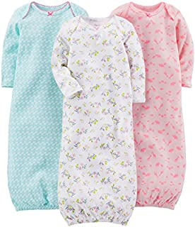 Simple Joys by Carter's Baby Girls' 3-Pack Cotton Sleeper...
