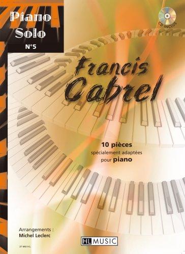 Piano solo n°5 : Francis Cabrel