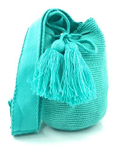 Kolumbianische Tasche (Wayuu Rucksack) MITTLERE GRÖSSE, Wayuu Rucksack für Frauen und Männer.