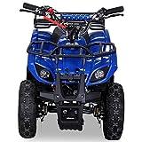 Pocketquad 49ccm Miniquad Quad Kinderquad Quad Pocketbike 49cc Blau RV- Racing
