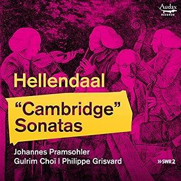 """Hellendaal: """"Cambridge"""" Sonatas"""