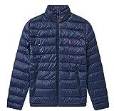 Polo Ralph Lauren Men's Lightweight Bleeker Down Jacket (Aviator Navy, Large)