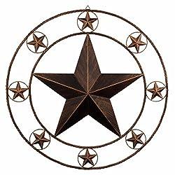 Rustic metal star.