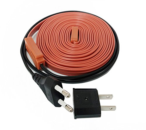 SixTools Pipe Heating Snow De-Icing Cable (3.3 ft (1m))