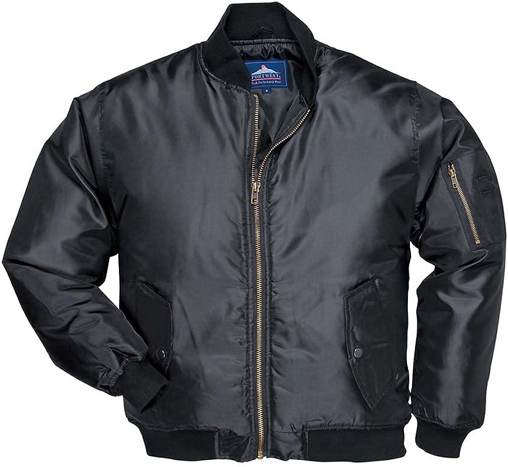 Portwest Mens Showerproof Pilot Jacket (S535) / Workwear
