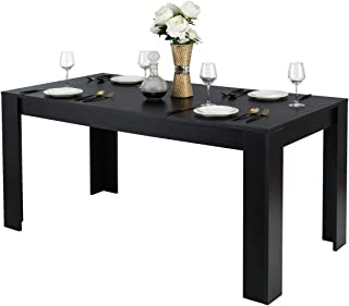 Giantex Wood Dining Table Rectangular Kitchen Table...