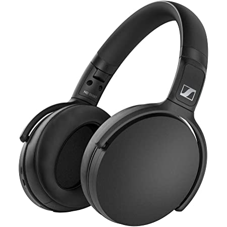 Sennheiser ゼンハイザー HD 350BT BLACK Bluetoothヘッドホン, 低遅延, AAC, aptX-LL, Bluetooth 5.0, ボイスアシスタント連携, Smart Control App, 【国内正規品】 508384