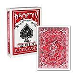 Phonic rojo cartas de juego