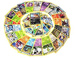 Image: 25 Rare Pokemon Cards with 100 HP or Higher (Assorted Lot with No Duplicates) (Original Version)