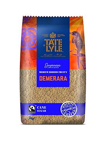 Tate & Lyle Fairtrade Demerara Cane Sugar 1000g - Brauner Rohrzucker