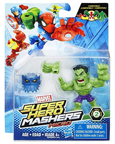 Marvel Super Hero Mashers Micro Series 2 Hulk 2 Action Figure by Marvel