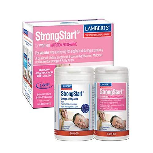 Lamberts - Strongstart Para Mujeres Lamberts, 30 Cpsulas + 30 Tabletas
