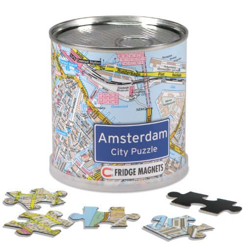 Extragoods City Puzzle Magnets - Amsterdam