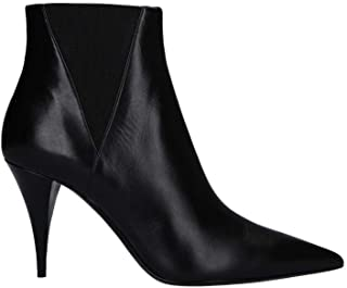 SAINT LAURENT Luxury Fashion Womens 5924471FZ001000 Black Ankle Boots | Fall Winter 19