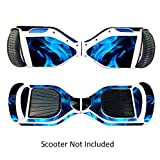 GameXcel Sticker for Hover Board - Skin for Self-Balancing Electric Scooter - Decal for Self Balance Mobility Longboard - Smart Protective Cover Vinyl Case for 2 Wheel Scooter Board
