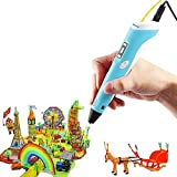 3D Stift,SHONCO 3D Pen,3D Printing Pen,3D Stift Kinder,3D Drucker Stift mit LCD-Display für 3D-Zeichnung Modellieren Kunsthandwerk mit 3 Farben 1.75mm Filament für Kinder Erwachsene Kunstwerken